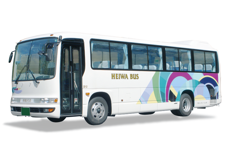 送迎バス 中型バス 貸切バスのご提案 平和コーポレーション株式会社