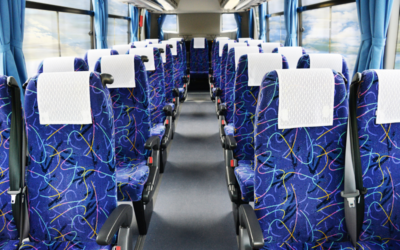 観光バス 中型バス 平和コーポレーション株式会社