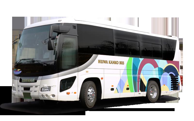 観光バス,中型バス,平和コーポレーション株式会社